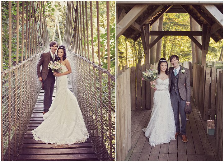 29 Treehouse Wedding in Northumberland By Craig Goode