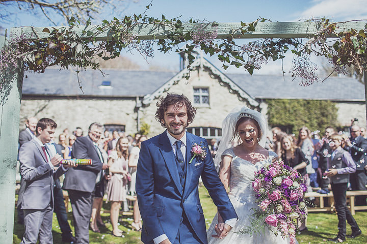 3 Vintage Glam Wedding in North Wales By Anna Hardy