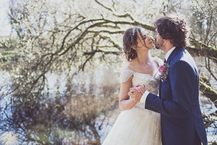 32 Vintage Glam Wedding in North Wales By Anna Hardy