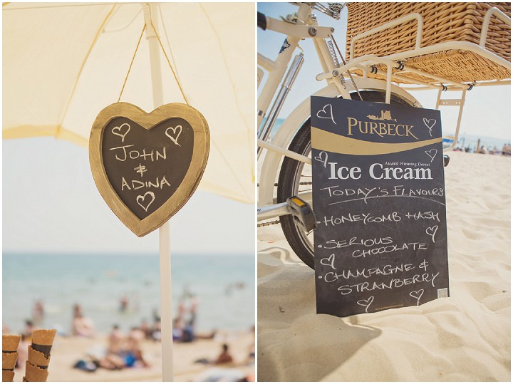 33 Beach Wedding in Bournemouth By Cotton Candy