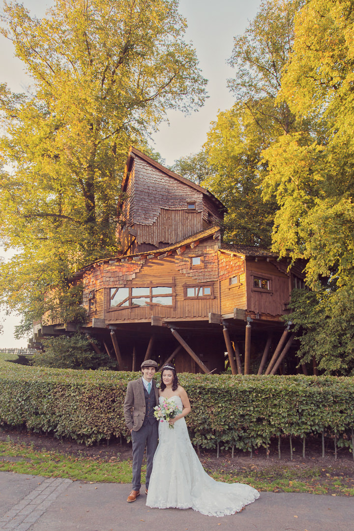 34 Treehouse Wedding in Northumberland By Craig Goode