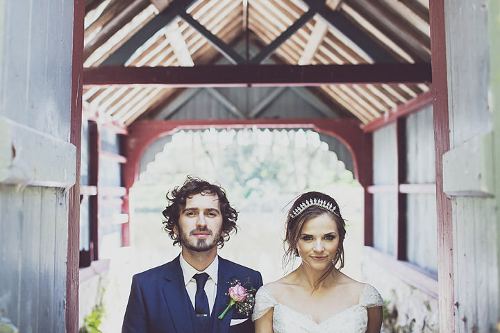 34 Vintage Glam Wedding in North Wales By Anna Hardy