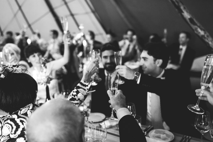 36 Tipi Wedding in Somerset By Ben Higgins