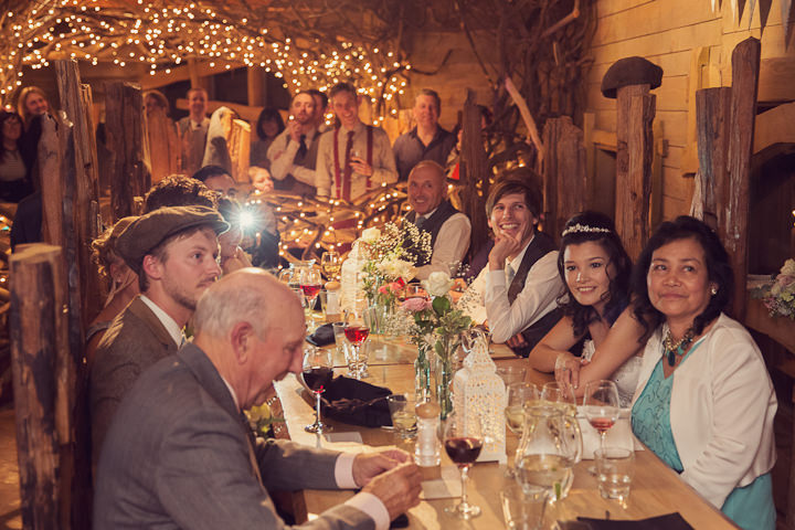 36 Treehouse Wedding in Northumberland By Craig Goode