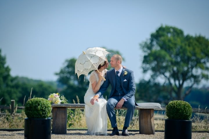 37 Summer Wedding at Gaynes Park in Epping By Justin Bailey