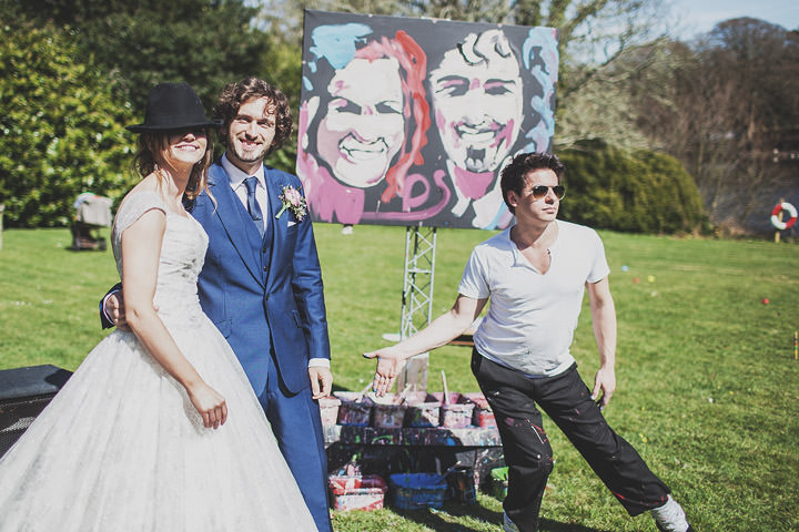 39 Vintage Glam Wedding in North Wales By Anna Hardy