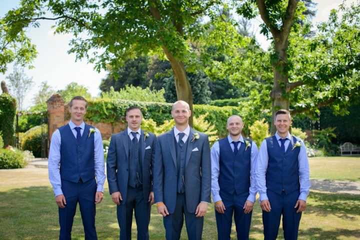 41 Summer Wedding at Gaynes Park in Epping By Justin Bailey