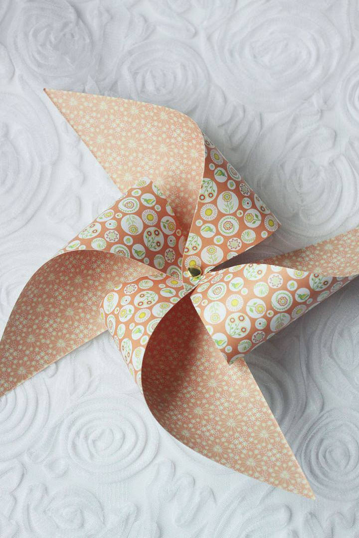 5 DIY Paper Windmills