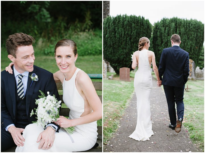 5 Devon Wedding With A Stella McCartney Wedding Dress By Ana Lui