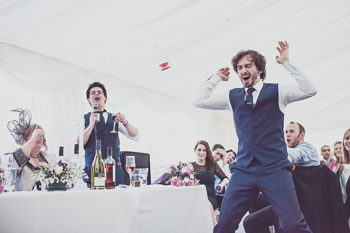 50 Vintage Glam Wedding in North Wales By Anna Hardy