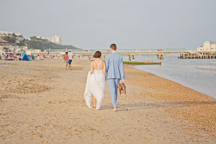 53 Beach Wedding in Bournemouth By Cotton Candy