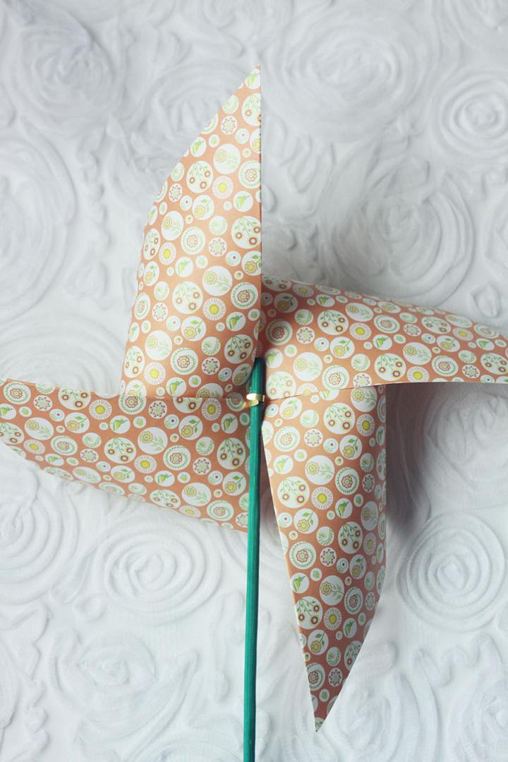 6 DIY Paper Windmills