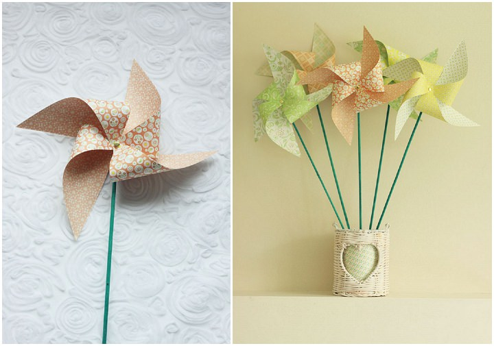 7 DIY Paper Windmills