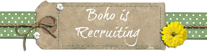 Boho is Recruiting