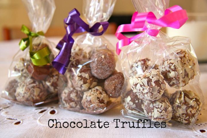 DIY Chocolate Truffles