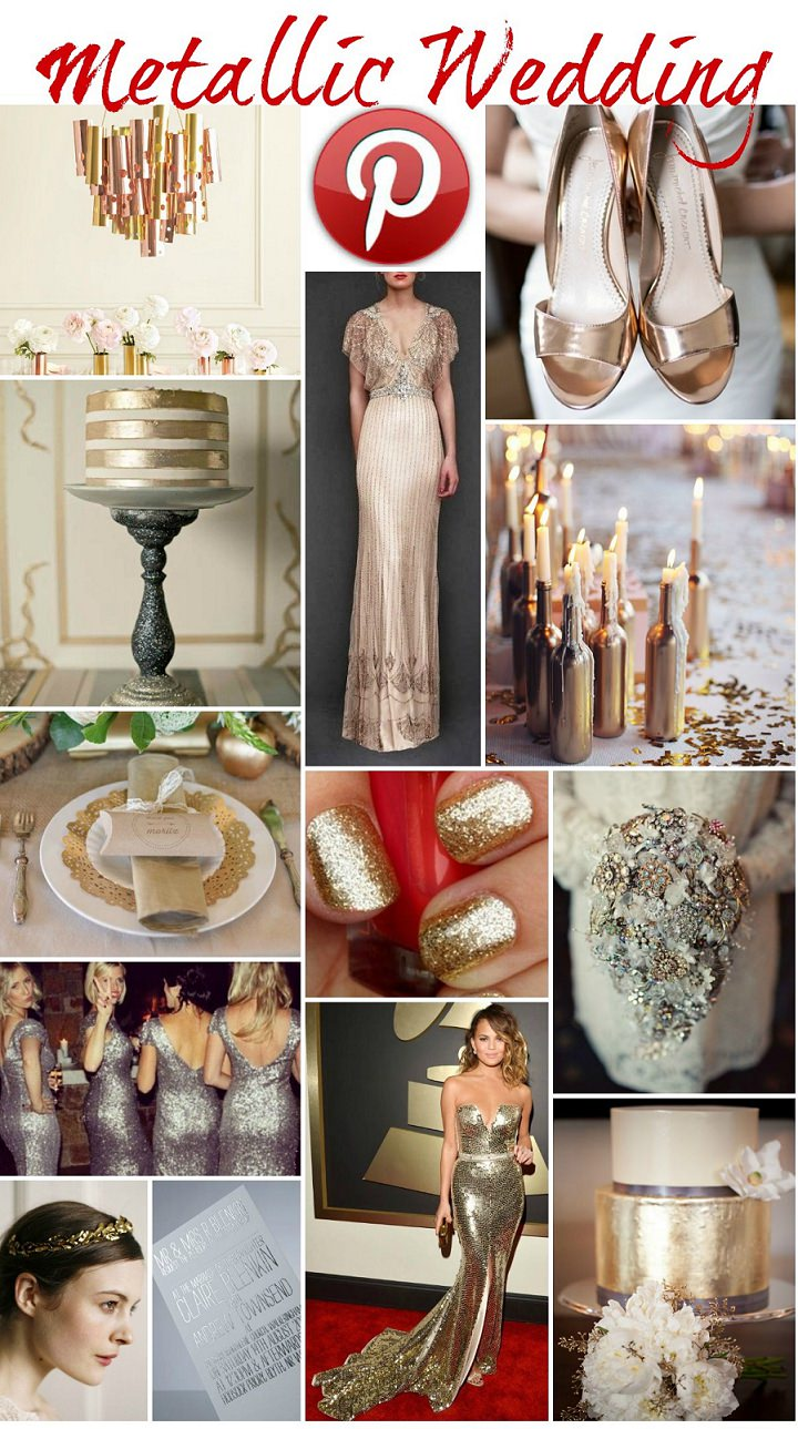 Metallic Wedding