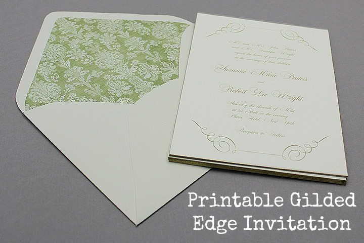 gilded edge invitations main