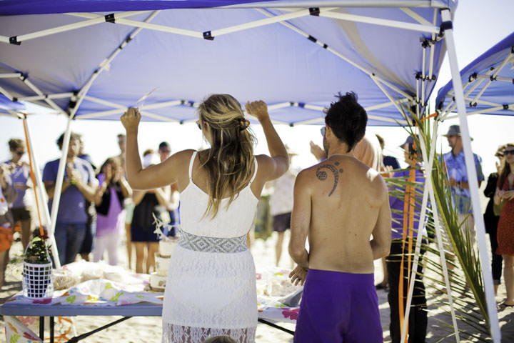 12 Simple Laid Back Beach Wedding By Jaqueline Patton