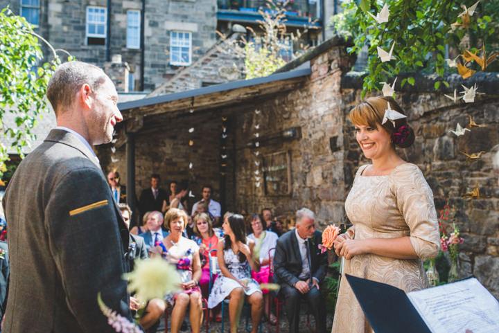 12 Urban Edinburgh Humanist Ceremony by Photos by Zoe