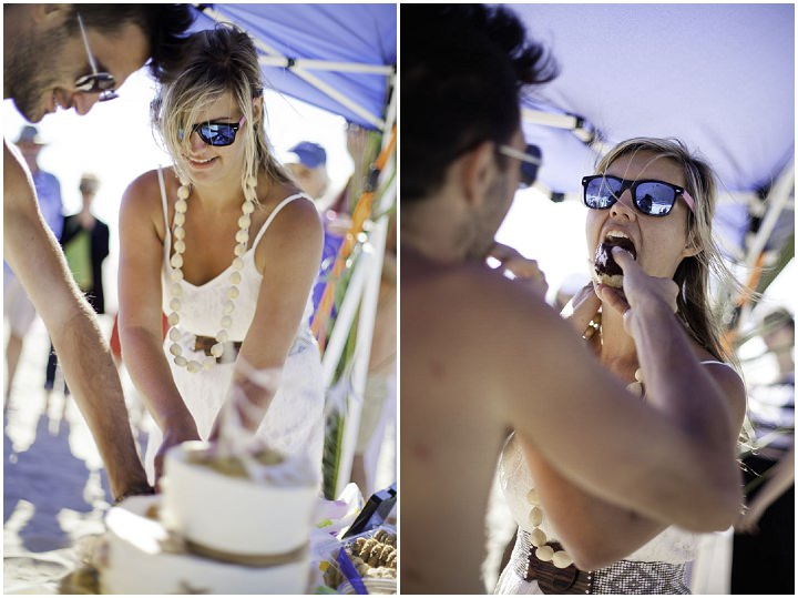 16 Simple Laid Back Beach Wedding By Jaqueline Patton