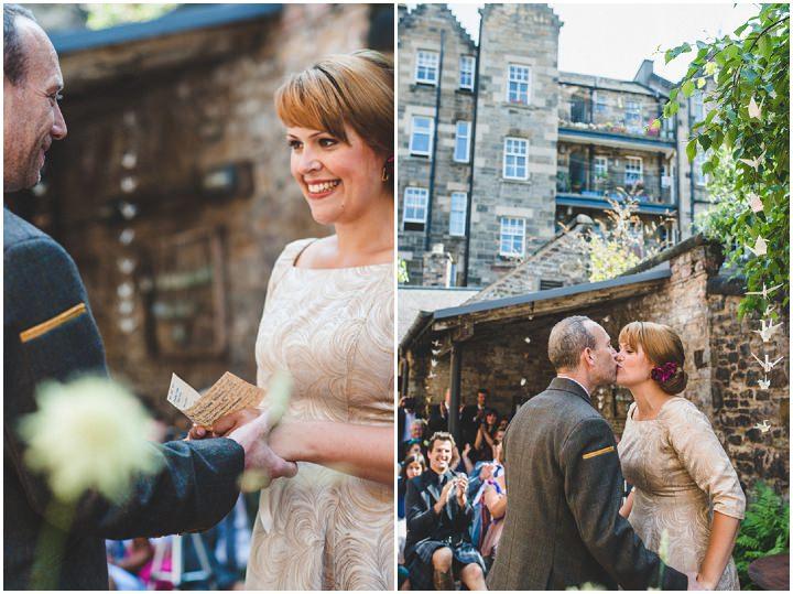 18 Urban Edinburgh Humanist Ceremony by Photos by Zoe