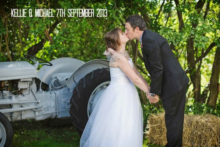 Kellie and Michael's DIY 80s Carnival Wedding. By Mark Tattersall