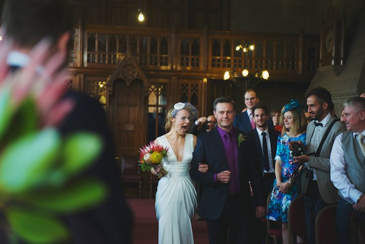 18 Manchester Wedding with a David Fielden Dress By Nicola Thompson