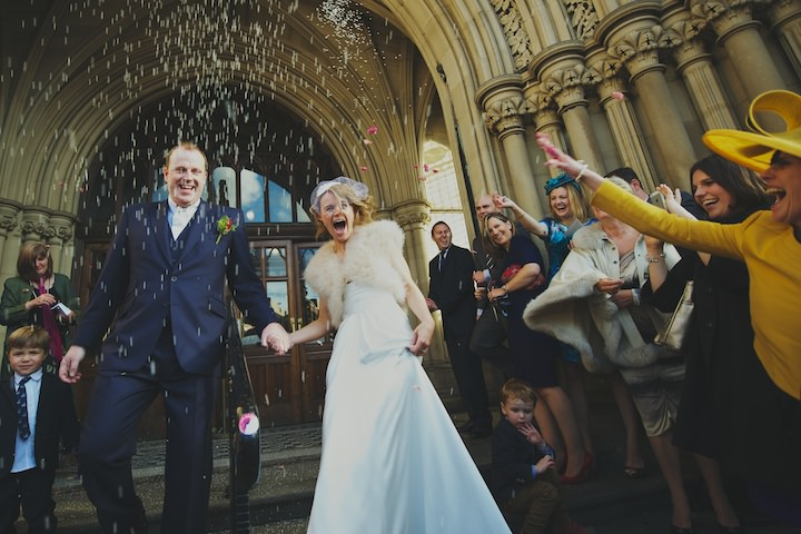 25 Manchester Wedding with a David Fielden Dress By Nicola Thompson