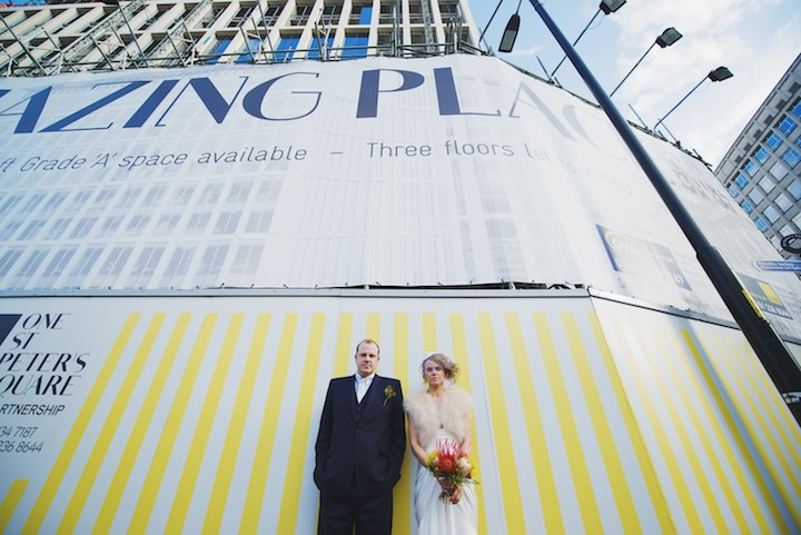 26 Manchester Wedding with a David Fielden Dress By Nicola Thompson