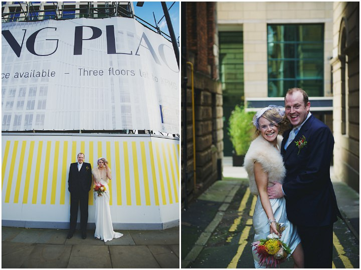 27 Manchester Wedding with a David Fielden Dress By Nicola Thompson