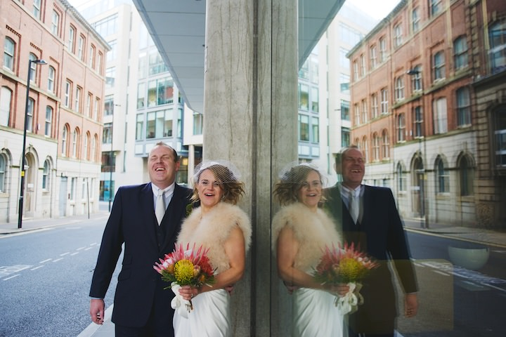 29 Manchester Wedding with a David Fielden Dress By Nicola Thompson