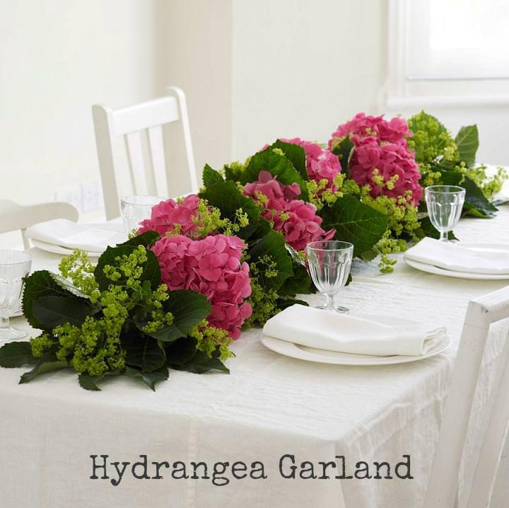 Diy tutorial hydrangea garland boho weddings for the