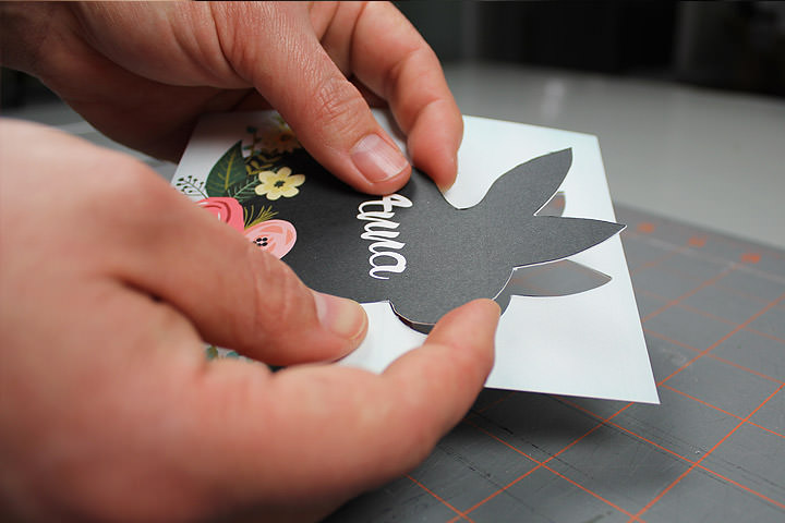 DIY Easter Place Card