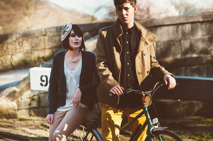A Boy a Girl and a Bike - A Styled Shoot By Hat Therapy & Toast of Leeds