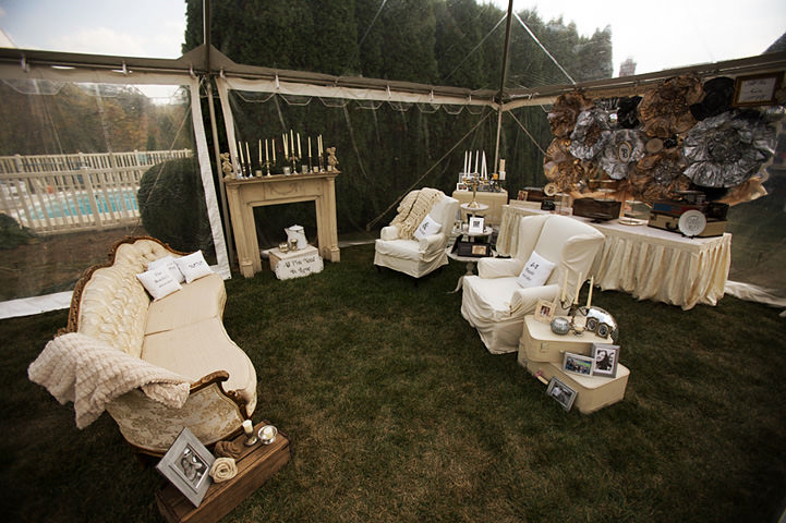 15 Backyard Wedding With a Touch of Autumn Vintage Elegance