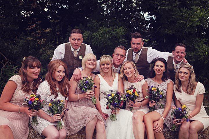 15 Welsh Farm Wedding By Kelly J Photography