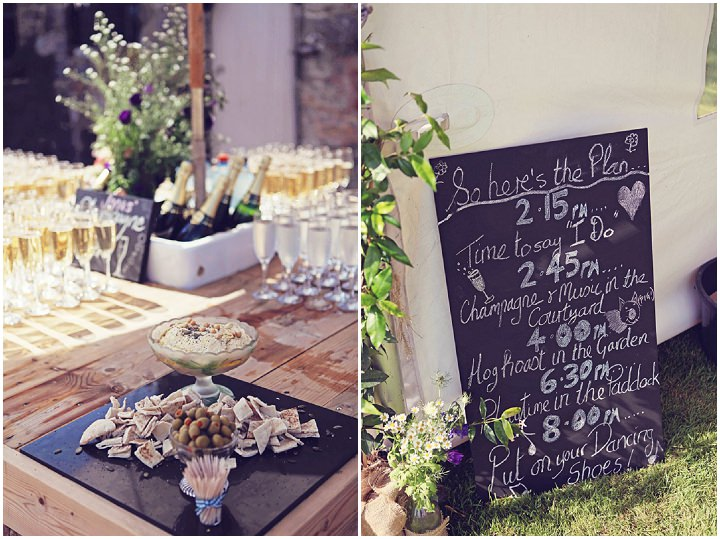 16 Welsh Farm Wedding By Kelly J Photography