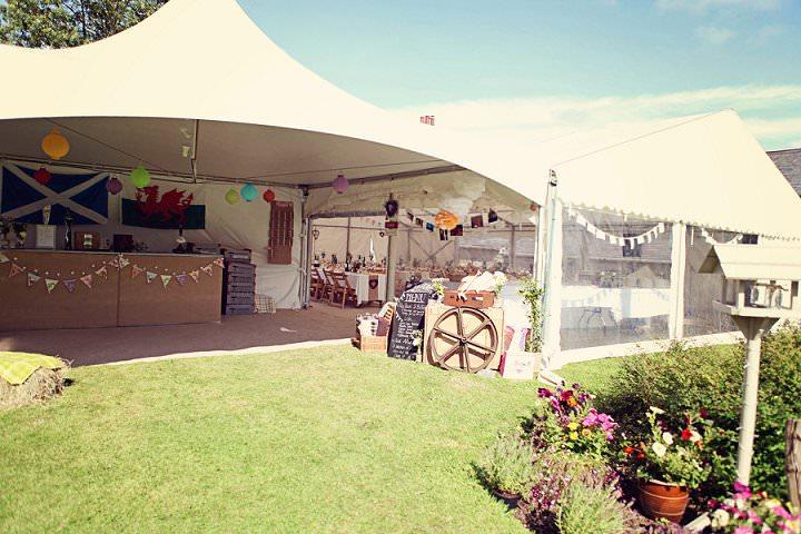 18 Welsh Farm Wedding By Kelly J Photography