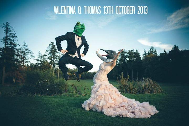 Valentina and Thomas' Romantic Midsummer Night's Dream Wedding. By Paul Underhill