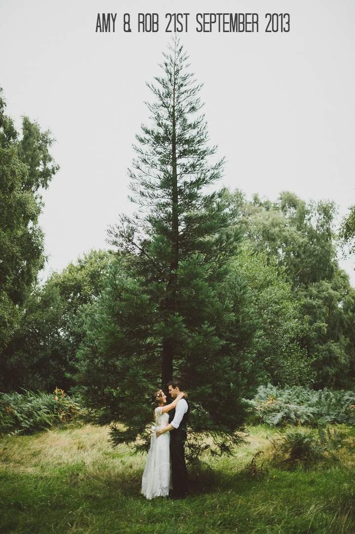 2 Rustic Outdoor Woodland Wedding By John Barwood Photography