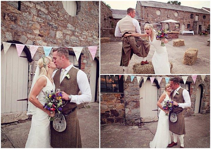 21 Welsh Farm Wedding By Kelly J Photography