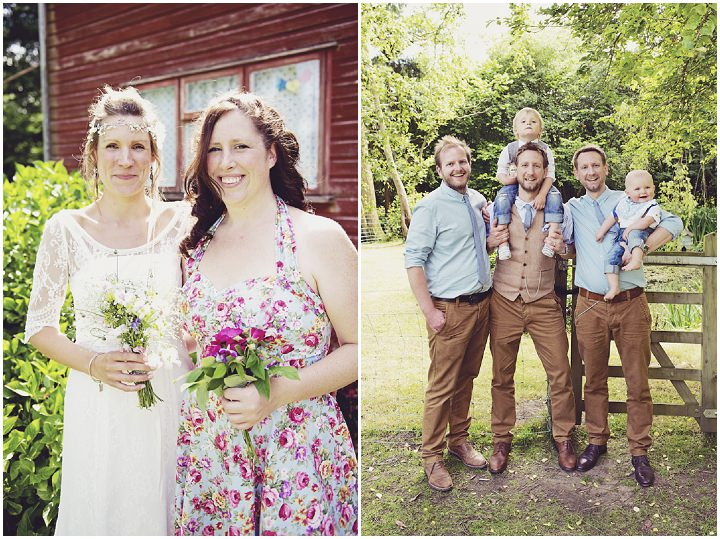 26 Rustic Garden Party Wedding By Candid & Frank Photography