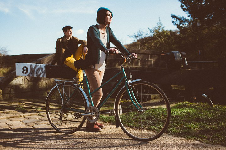 Girl on a bike by Toast of Leeds Photography