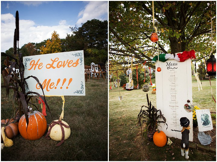 29 Backyard Wedding With a Touch of Autumn Vintage Elegance