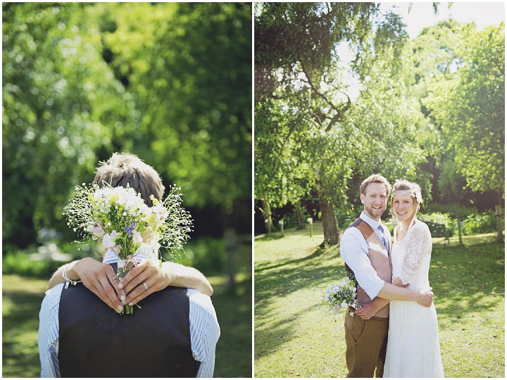 30 Rustic Garden Party Wedding By Candid & Frank Photography