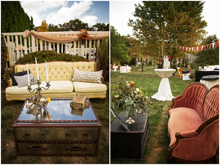 33 Backyard Wedding With a Touch of Autumn Vintage Elegance