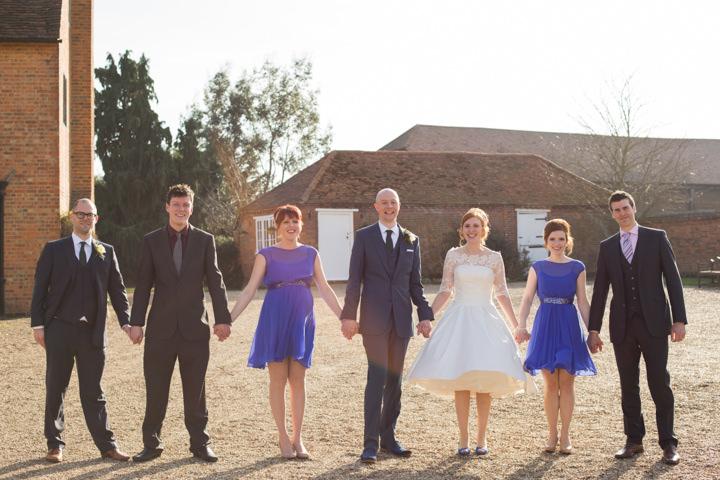 35 Relaxed Barn Wedding by Stott & Atkinson