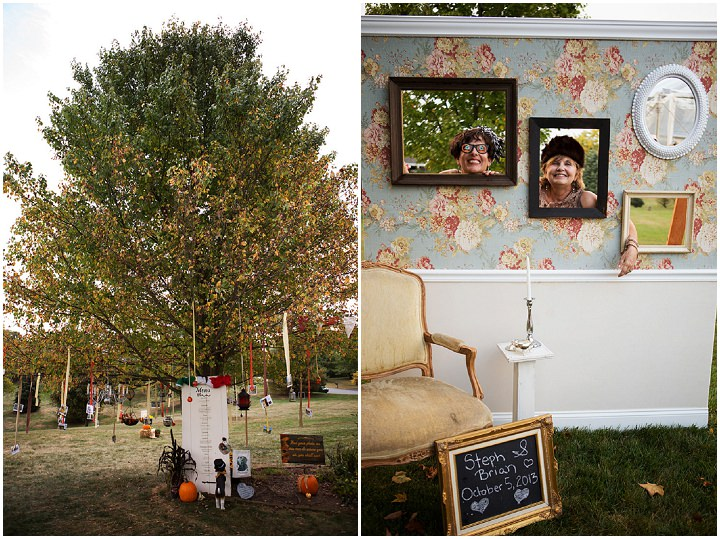 37 Backyard Wedding With a Touch of Autumn Vintage Elegance