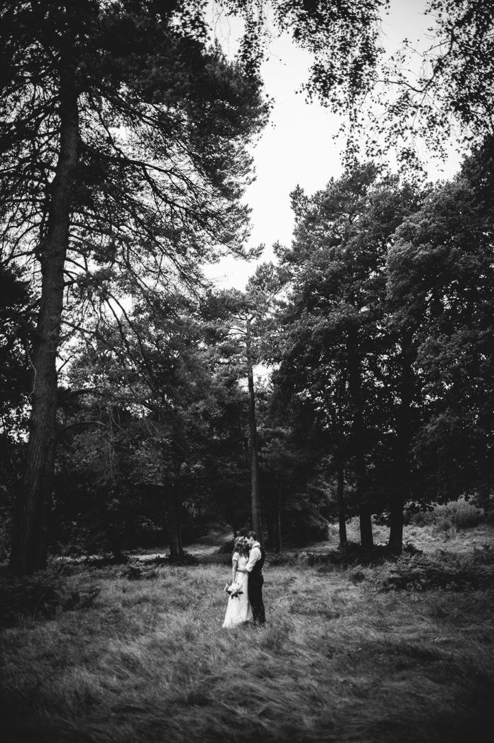 Woodland Wedding Photography: Rustic Outdoor Woodland Wedding By John Barwood Photography