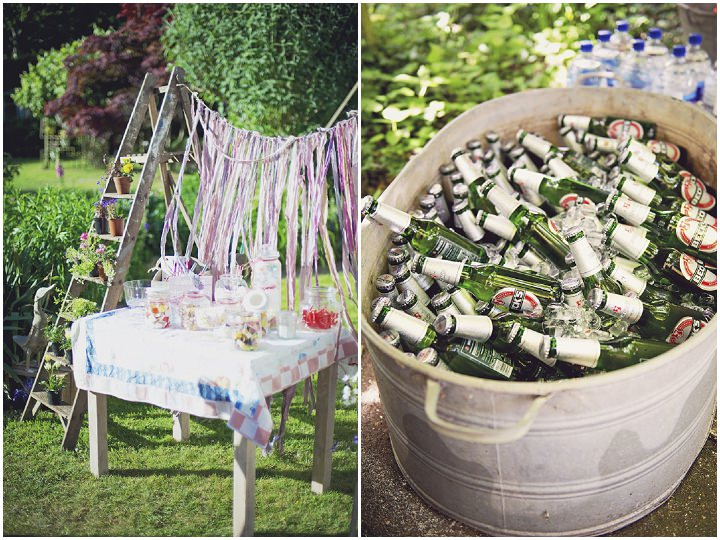 Rustic Garden Party Wedding By Candid & Frank Photography